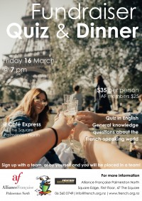 Fundraiser Quiz & Dinner - Click to enlarge picture.