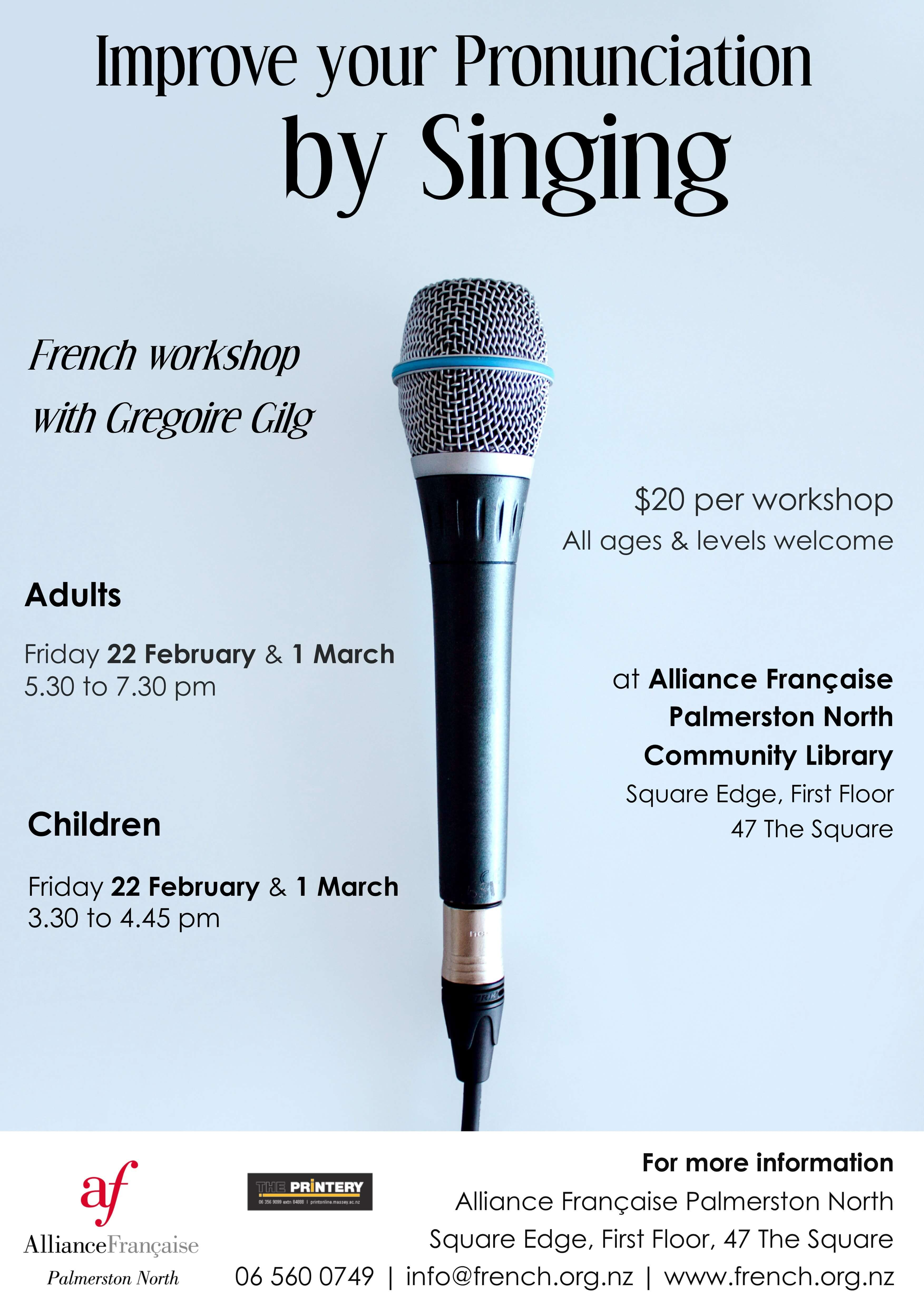 Adults Singing Workshop 22 Feb - Click to enlarge picture.