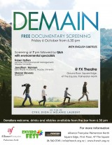 Tomorrow Documentary Screening
