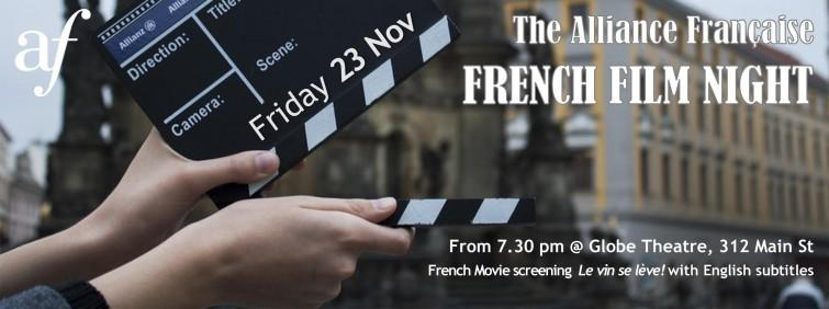 French Film Night - Le vin se lève