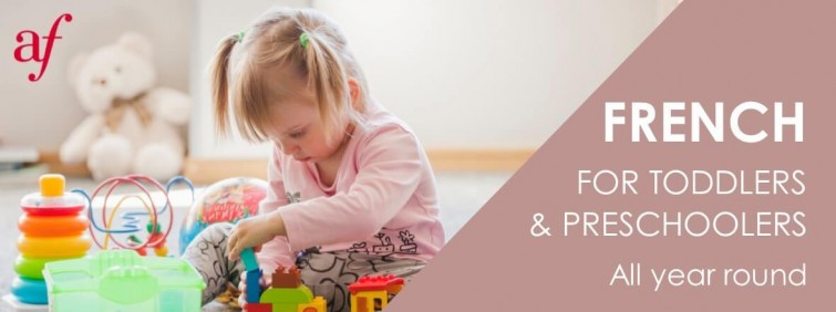 French for Toddlers and Preschoolers - Term 1 2020