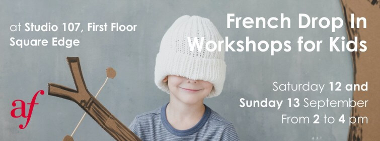 French Drop In Workshops for Kids